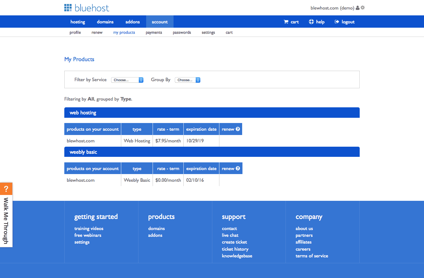 Bluehost shared hosting reviews previous next xflitez Choice Image